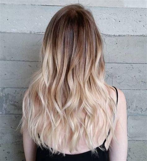 beautiful blonde balayage