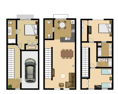 home design evansville in 3 bedroom executive townhouse