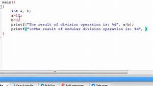 C How To : c programming tutorial 8 modular division youtube ~ A.2002-acura-tl-radio.info Haus und Dekorationen