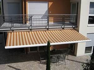 markisen fur alle stadte deutschlands rollomeisterde With markise balkon mit tapete metallic silber