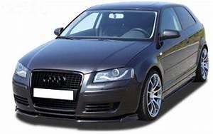 Audi A3 Phase 2 : lame de pare choc avant audi a3 8p 3 portes et sportback ~ Medecine-chirurgie-esthetiques.com Avis de Voitures