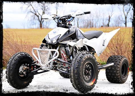 White Shock Covers Honda Trx 450 R Er Trx450 450r (set Of