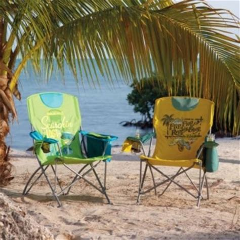 frontgate margaritaville folding chairs pool beach