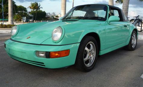 Porsche 911 Mint Green Paint Code Paint Color Ideas