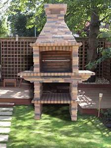 Barbecue De Jardin : barbecue de jardin en brique ~ Premium-room.com Idées de Décoration