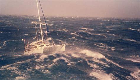 Trimaran Heavy Weather by Heavy Weather Strategies When Sailing A Catamaran Sail