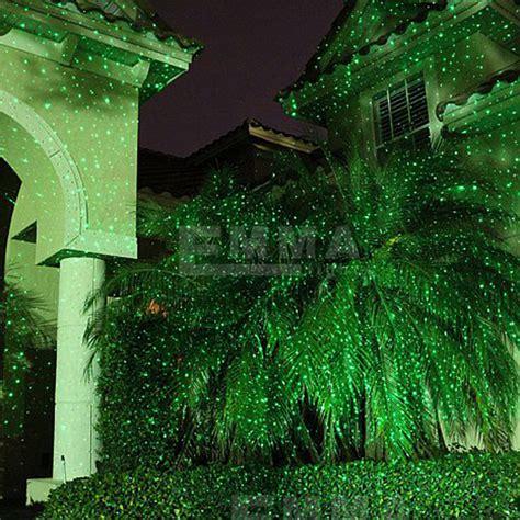 outdoor green laser projectors landscape lighting