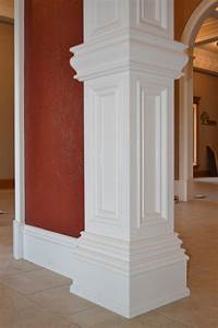 Interior door window wall molding cincinnati oh for Interior wall columns ideas