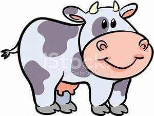 Cute Cow Vector Illustration stock photos - FreeImages.com