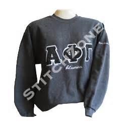 hanes 10oz crewneck greek sweatshirt With greek letters crewneck