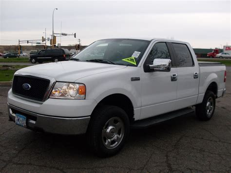 ford truck white ride auto 2007 ford f150 white