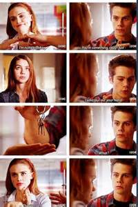 Teen Wolf Lydia and Stiles