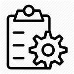 Icon Project Management Planning Plan Order Icons