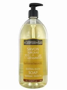 Le Comptoir Du Bain : le comptoir du bain savon liquide de marseille nature surgras 1l ~ Teatrodelosmanantiales.com Idées de Décoration