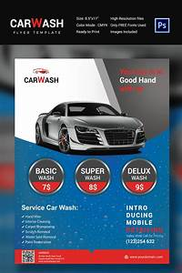 image gallery mobile carwash business flyer With car wash coupon template