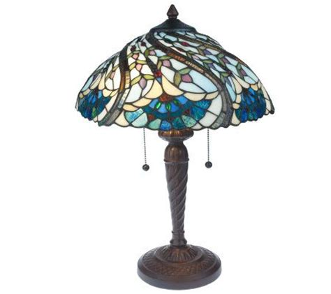 tiffany style table ls tiffany style handcrafted peacock swirl decorative base
