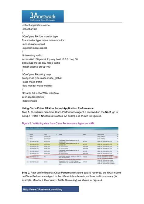 agent cisco overview performance