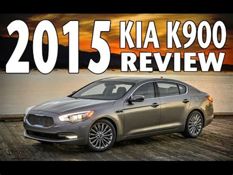 2015 kia k900 review and test drive