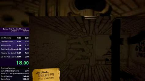 (world Record) Bendy And The Ink Machine Chapter 1 Alpha