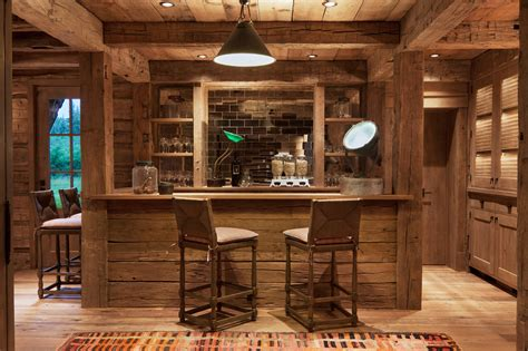 Home Bar by 15 Distinguished Rustic Home Bar Designs For When You