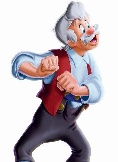 Pinocchio Geppetto Disney Cricket Gepeto Walt Jiminy