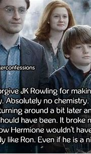 I will never forgive JK Rowling for making Harry marry ...