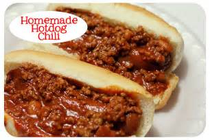 Homemade Hot Dog Chili Recipe