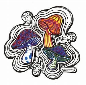 ideas for drawing mushrooms | mushroom art | Pinterest ...