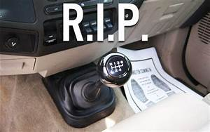 The Manual Transmission Is Dead  And It U0026 39 S Never Coming