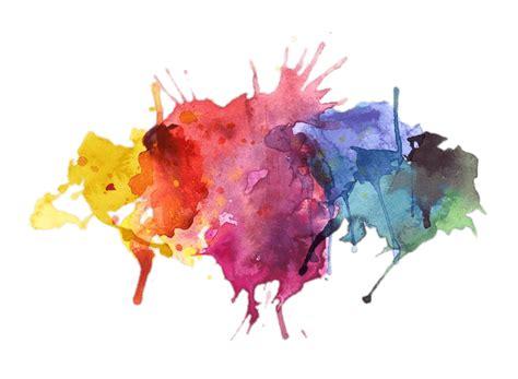 water colors paint splatter transparent png stickpng