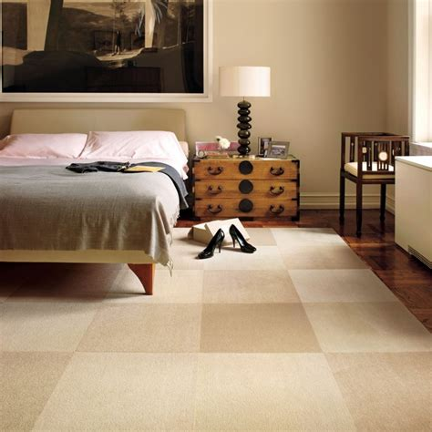 Bedroom Carpet Tiles by Modern Mix Contemporary Bedroom