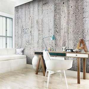 Tapeten Beton Design : vlies fototapete 3 farben zur auswahl tapeten beton wand loft f b 0022 a b ~ Sanjose-hotels-ca.com Haus und Dekorationen