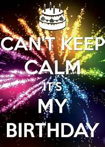 It's my birthday, I can't keep calm! | Gymnastics quotes ...