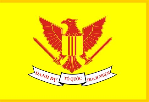 Flag Of The President Of The Republic Of Vietnam As