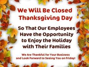 which stores are closed on thanksgiving