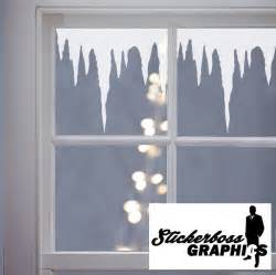 christmas decoration icicles window stickers decals vinyl xmas snow ice 1 meter ebay