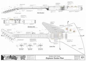 Hollowbody Electric Guitar Plans  4  Electronic Version L