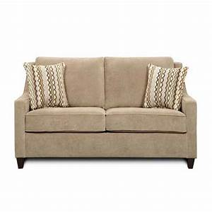 Kb furniture 8950b sofa hide a bed atg stores for Sectional sofa with hide a bed