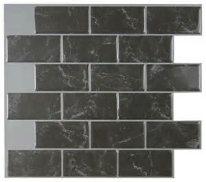 smart tiles subway marbella peel and stick 3d gel o wall tiles mosaik 1 count contemporary
