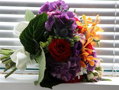 Wedding Bouquets For Summer Weddings