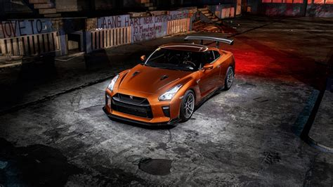 katsura orange nissan gtr  wallpaper hd car wallpapers
