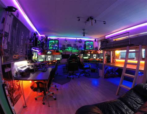 4 bed bunk beds 9 amazing pc gaming battle stations