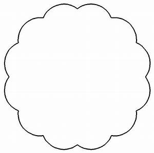 Scallop Circle Template, Png - ClipArt Best