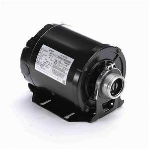 Carbonator Pump Motor 1  3 Hp 1725 Rpm 115  230 Volts
