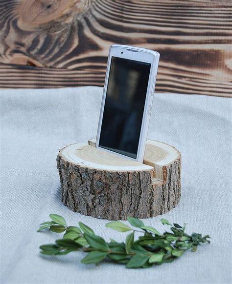 wood standphone standdocking stationwood holderphone