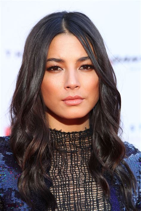 jessica gomes long wavy cut hair lookbook stylebistro
