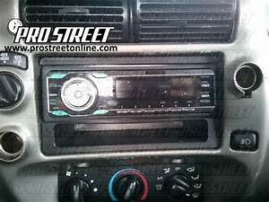 How To Ford Ranger Stereo Wiring Diagram