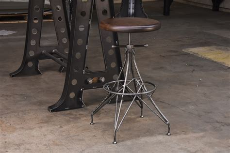 Rebar Stool   Vintage Industrial Furniture