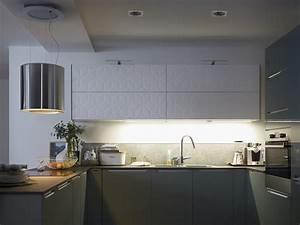 Eclairage Dessus Evier Cuisine : votre cuisine mise en lumi re ~ Dode.kayakingforconservation.com Idées de Décoration