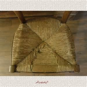 Refaire Une Assise De Chaise En Paille by Technique Rempaillage Paille Paille Tissu